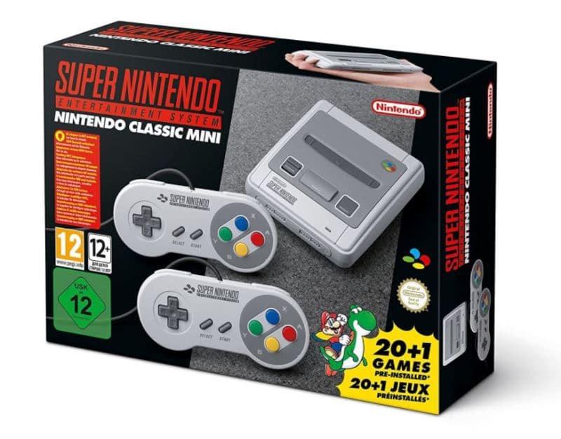 Super NES Classic Mini pas chère