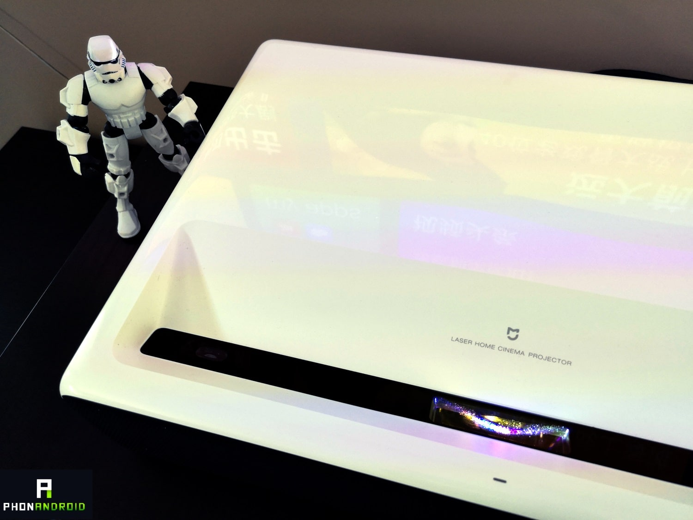 test xiaomi mi projector laser