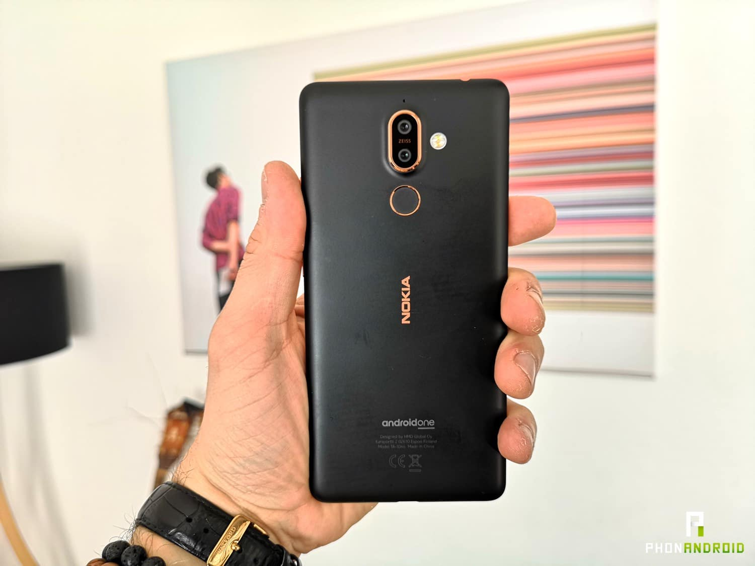 test nokia 7 plus design