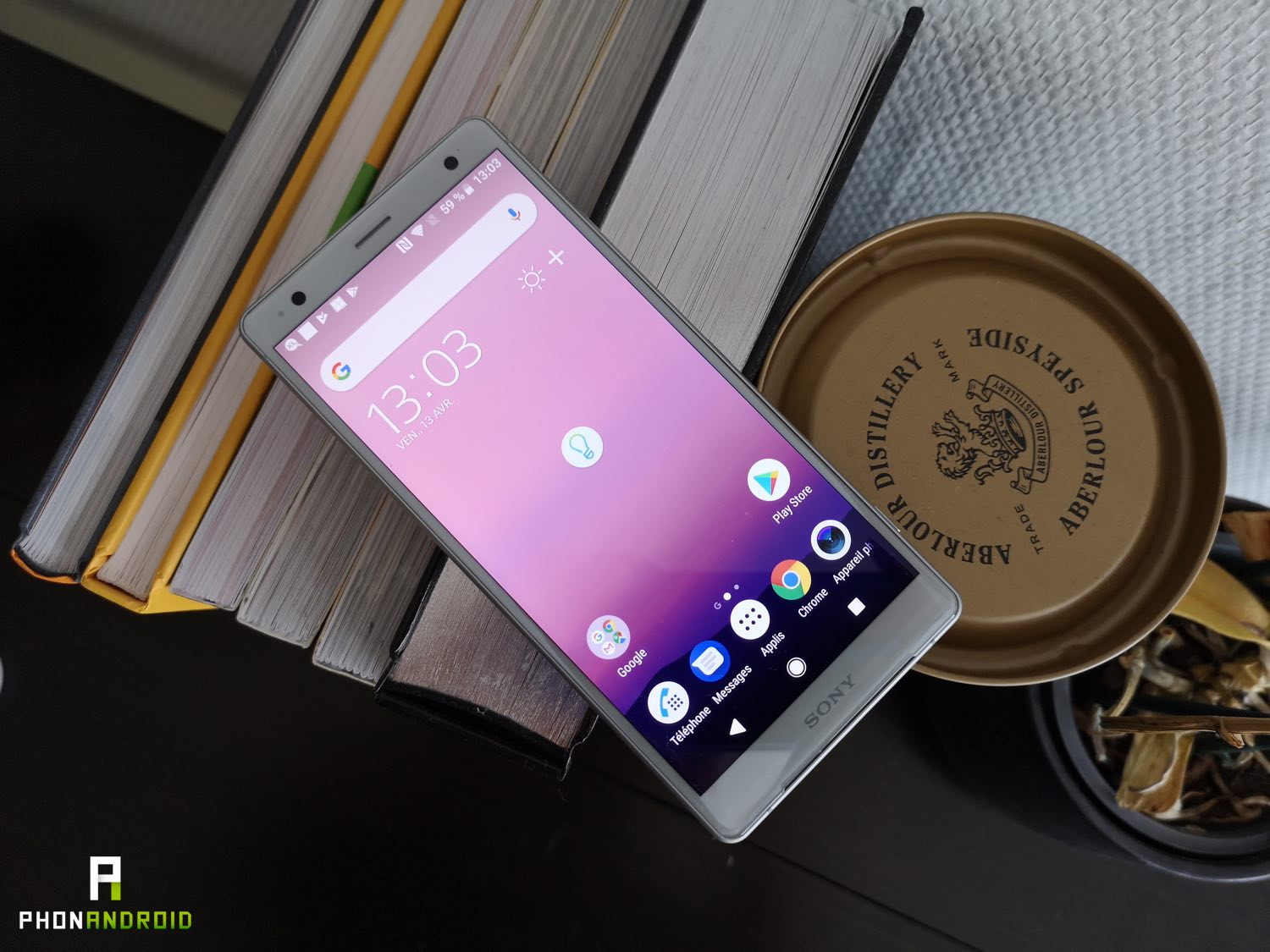 test sony xperia xz2 design ecran