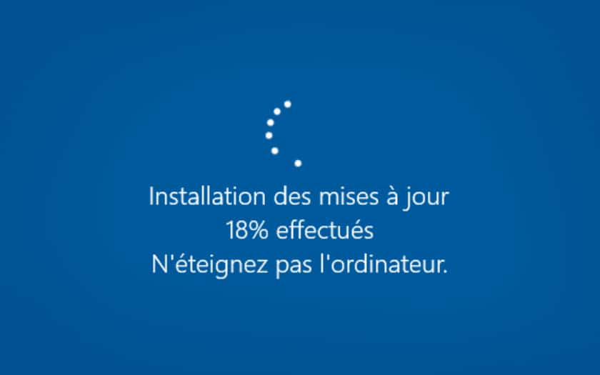 windows 10 mise a jour