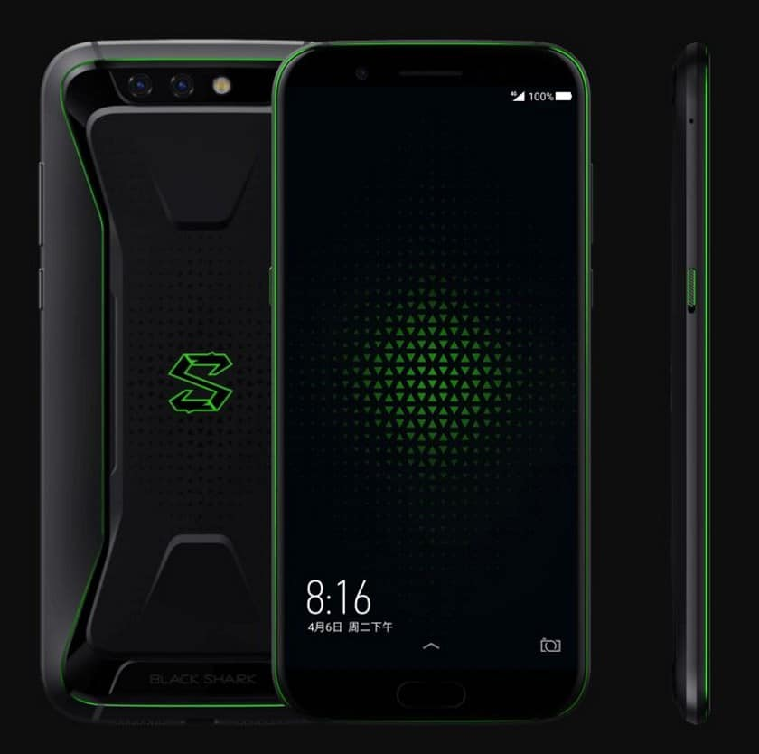 Xiaomi Black Shark Officiel 233 Cran 18 9 6 Go De Ram Et