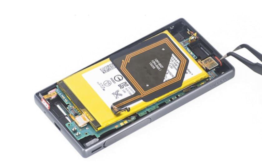 xz2 batterie