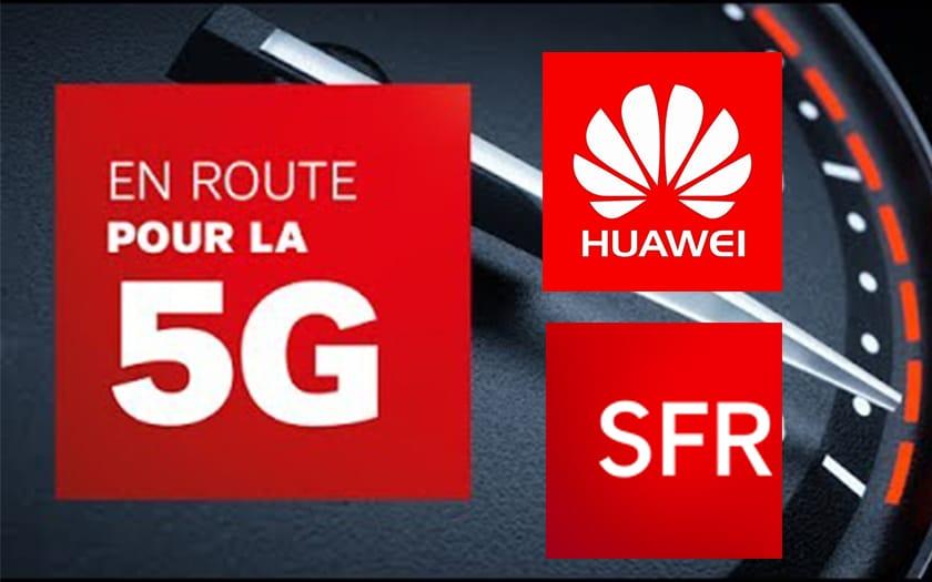 5G SFR Huawei