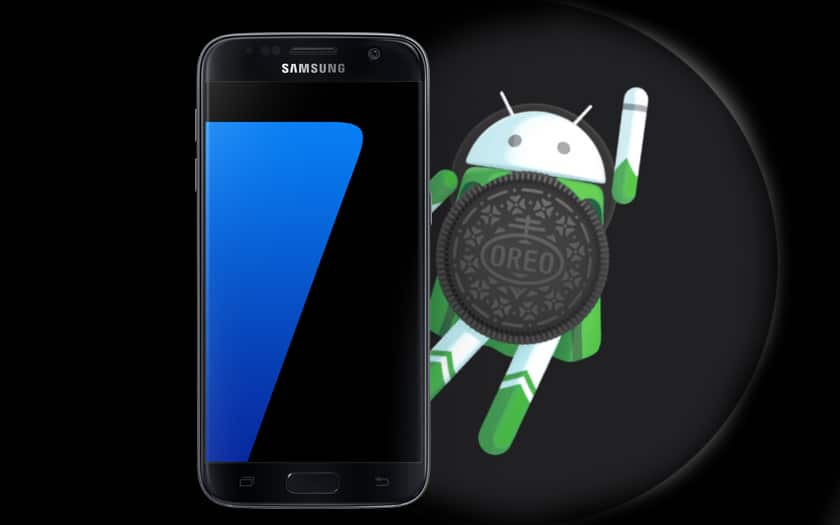 android oreo samsung galaxy S7 edge