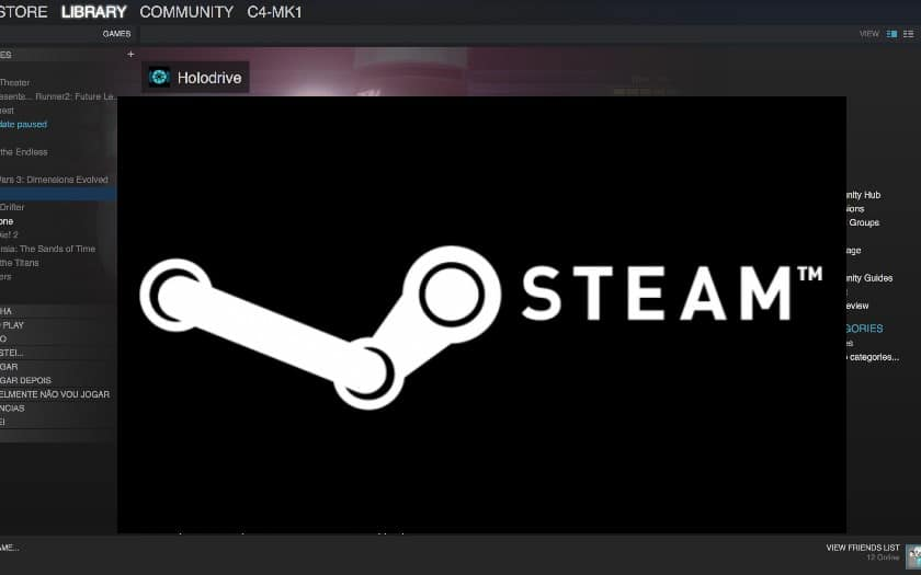 appstore steam link rejette