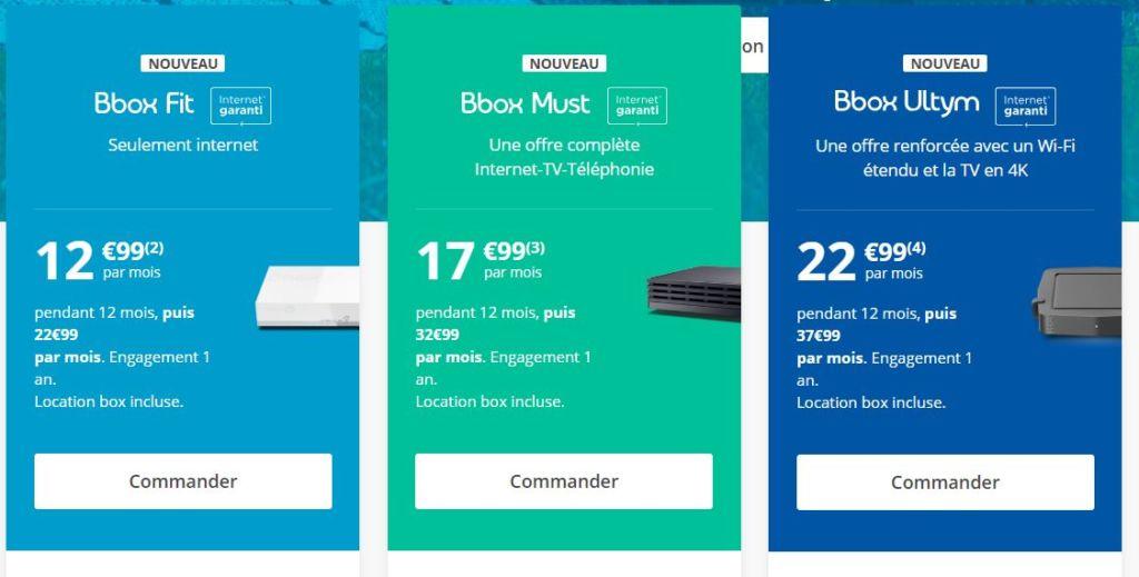 bbox prix