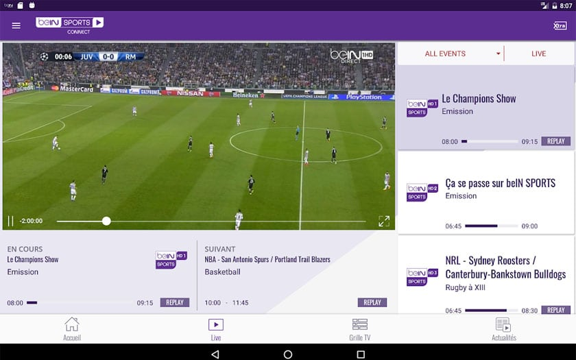 beinsports android
