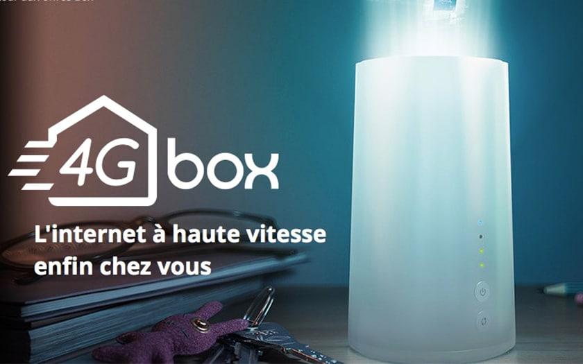 Bouygues télécom 4G box
