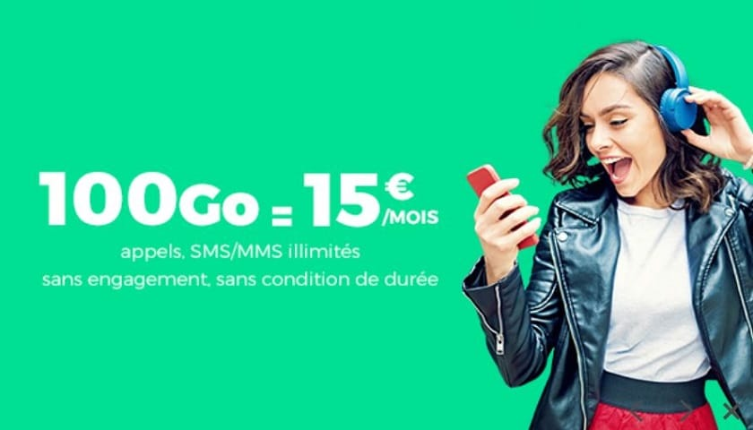 forfait red 100 go a 15 euros showroomprive