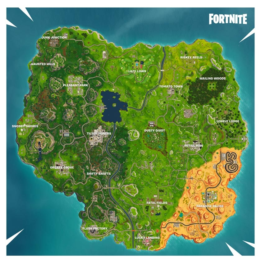 fortnite carte saison 5