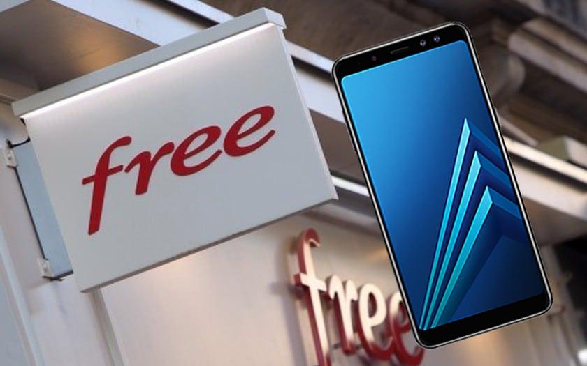 free mobile galaxy A8