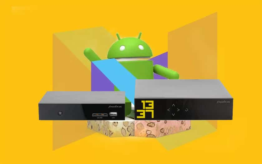 freebox mini 4k android nougat