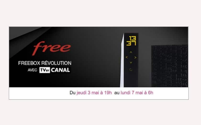 freebox revolution nouvelle vente privee mai 2018