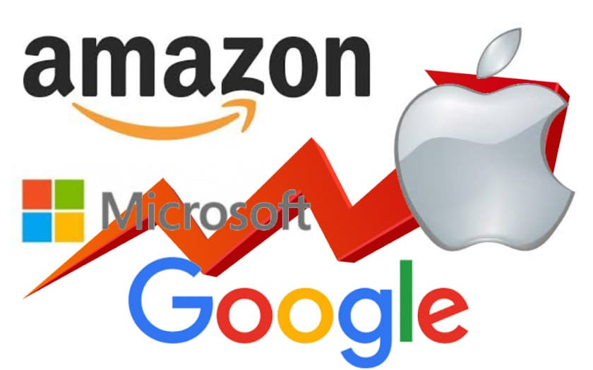 google apple amazon microsoft