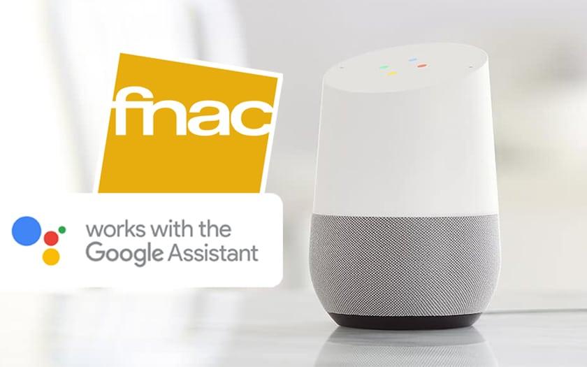 google assistant Fnac