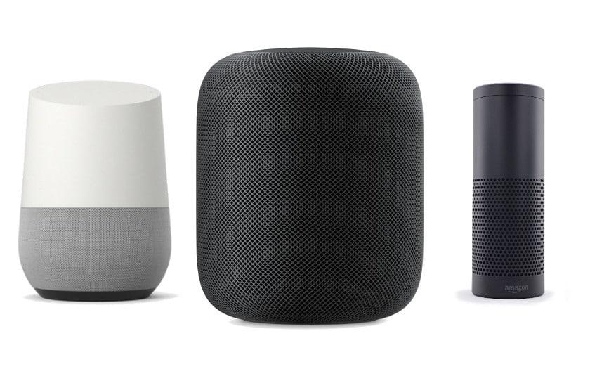 google assistant homepod amazon echo