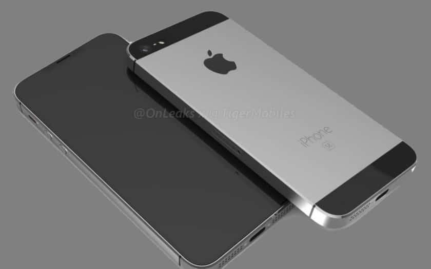 iphone SE 2 modelisation 3D