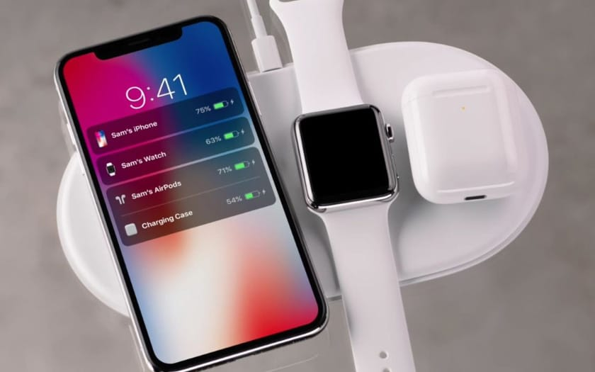 iphone x apple watch airpods