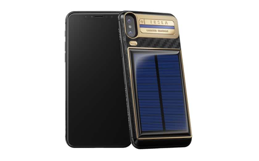 l 39 iphone x tesla dot d 39 un panneau solaire ne co te que 4500. Black Bedroom Furniture Sets. Home Design Ideas