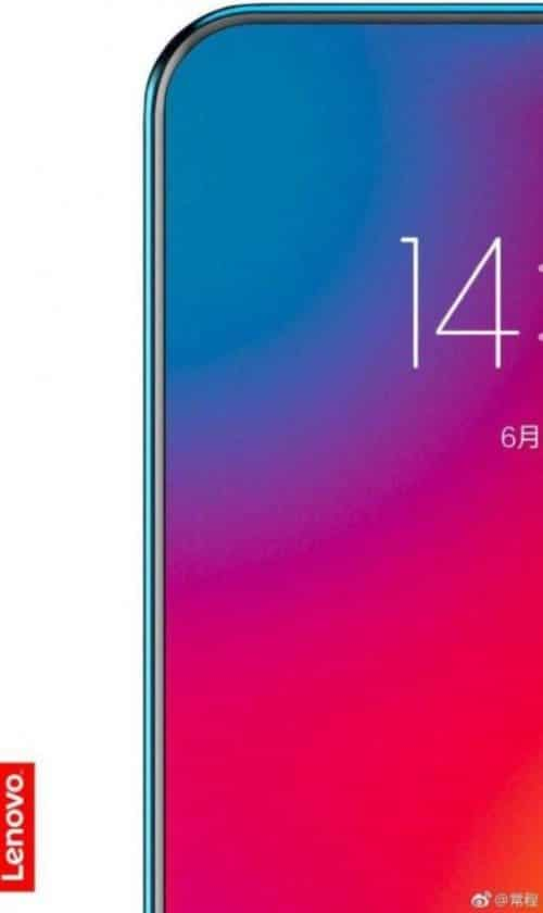 lenovo design smartphone borderless