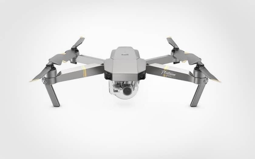 drone dji mavic pro platinium combo pas cher tomtop