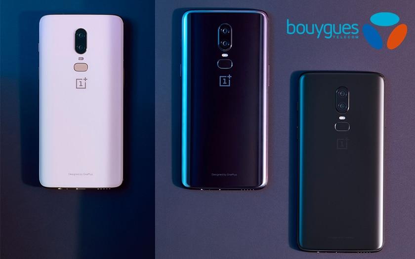oneplus 6 Bouygues télécom