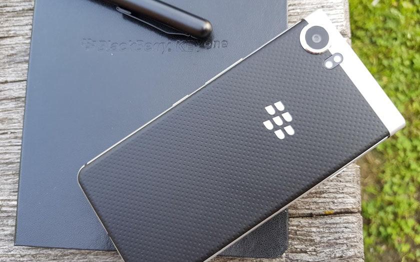 test blackberry keyone