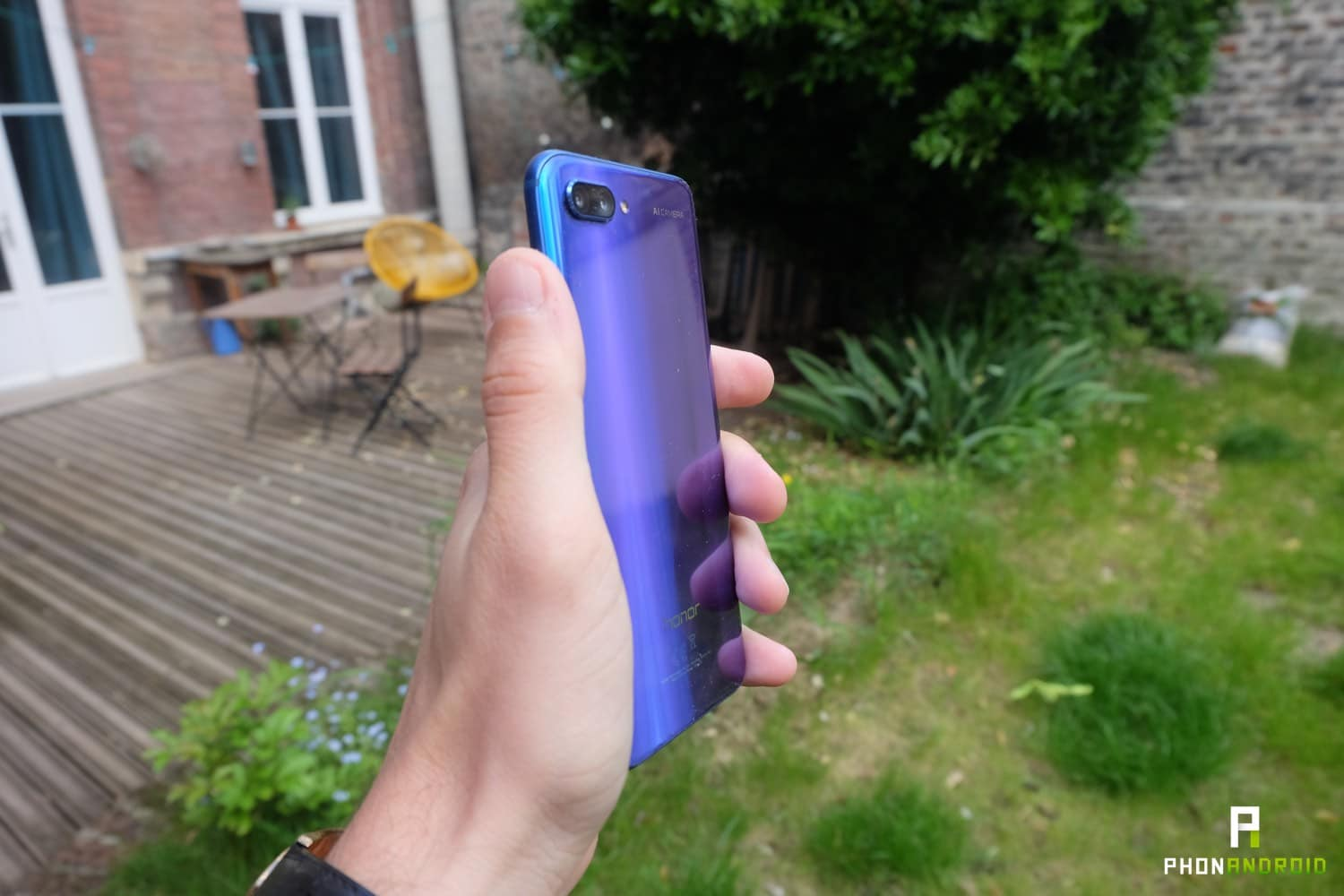 test honor 10 coloris