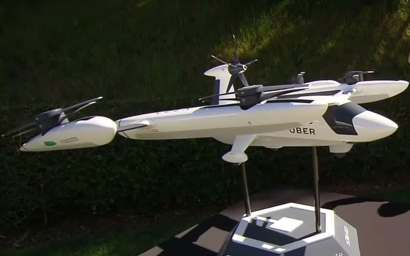 uber taxi volant prototype