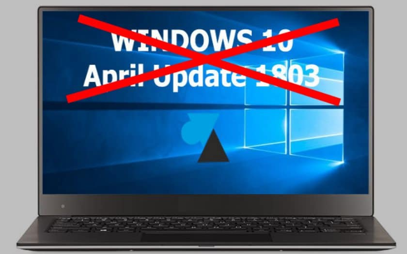windows 10 april update bloque ssd