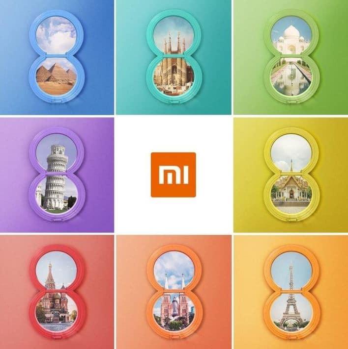 xiaomi mi 8 disponible en France