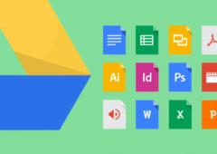 Google Drive partage de fichiers