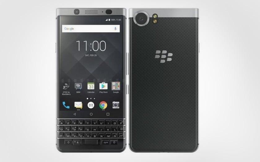 soldes été 2018 blackberry keyone gris