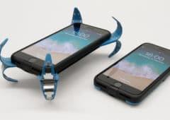coque smartphone ecran casse