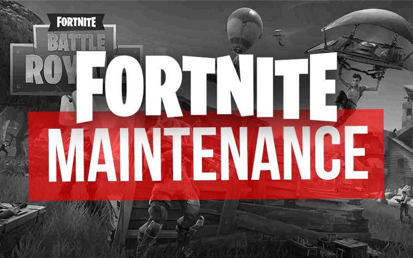 fortnite maintenance
