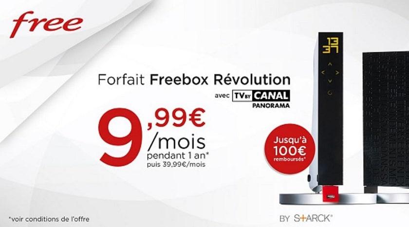 forfait freebox revolution vente privee juin 2018