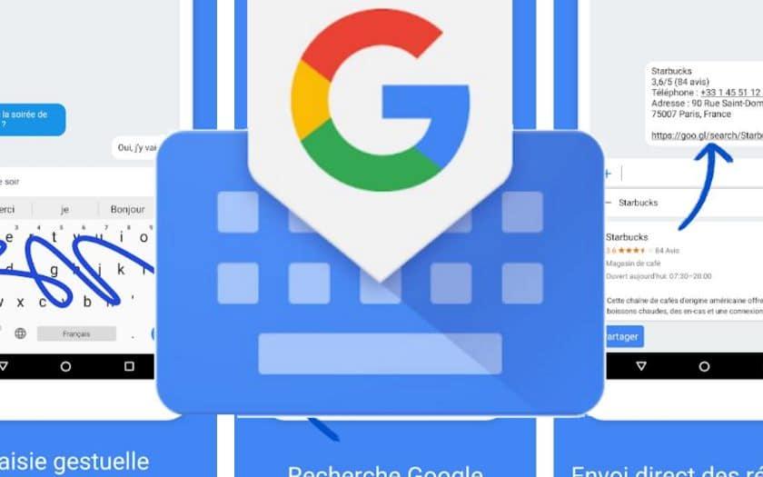 google clavier gboard nouveautes