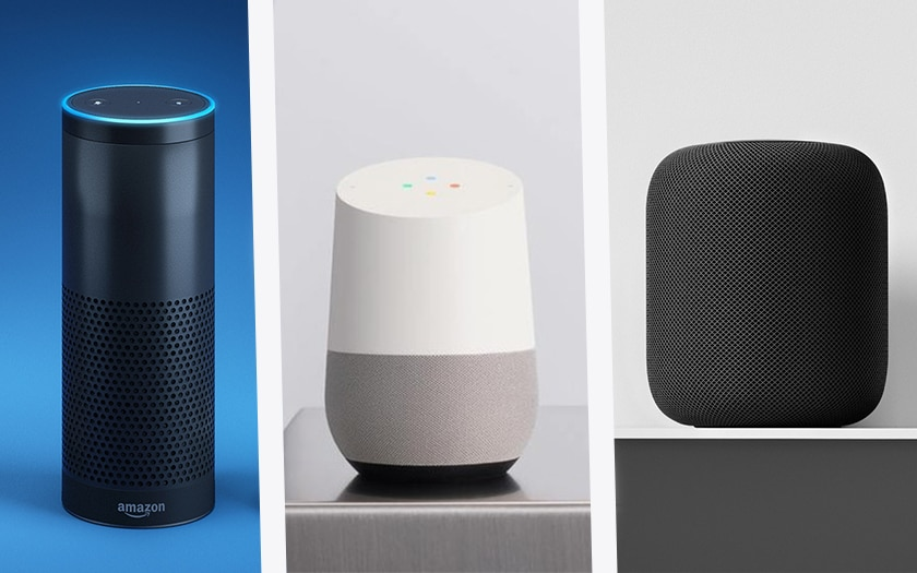 google home amazon echo HomePod