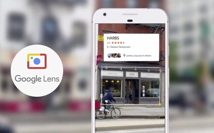 Concrtement Quoi Sert Google Lens En Pointant Une Carte De Visite Avec Votre Appareil Photo Vous Pourrez Par Exemple Enregistrer Automatiquement