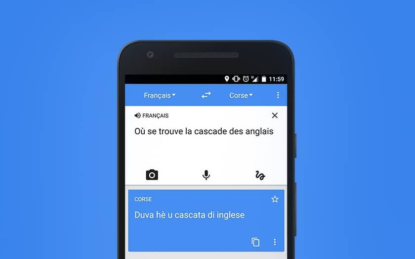 google traduction application
