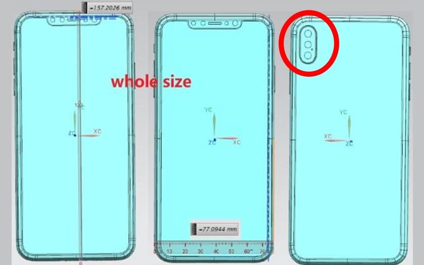 iphone 2018 double capteur photo