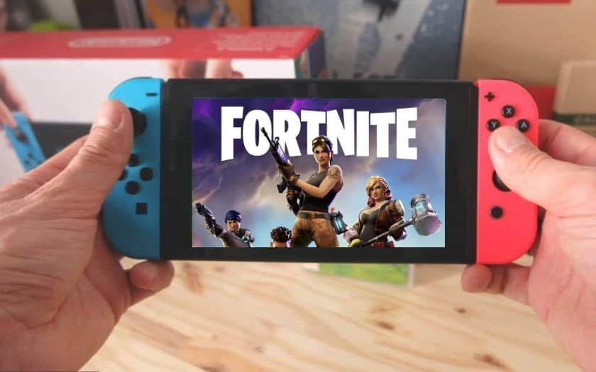 nintendo switch jeux fortnite