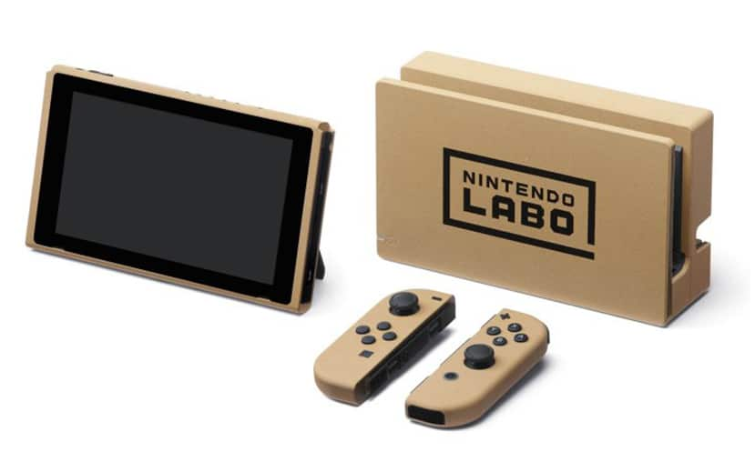 nintendo switch dition labo d couvrez la nouvelle console collector qui ressemble du carton. Black Bedroom Furniture Sets. Home Design Ideas