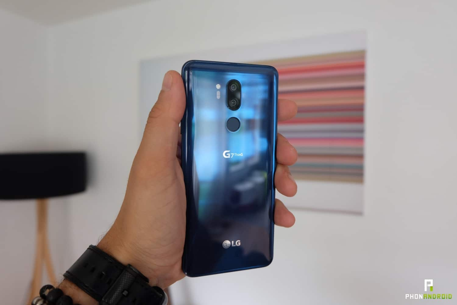 review lg g7 thinq design