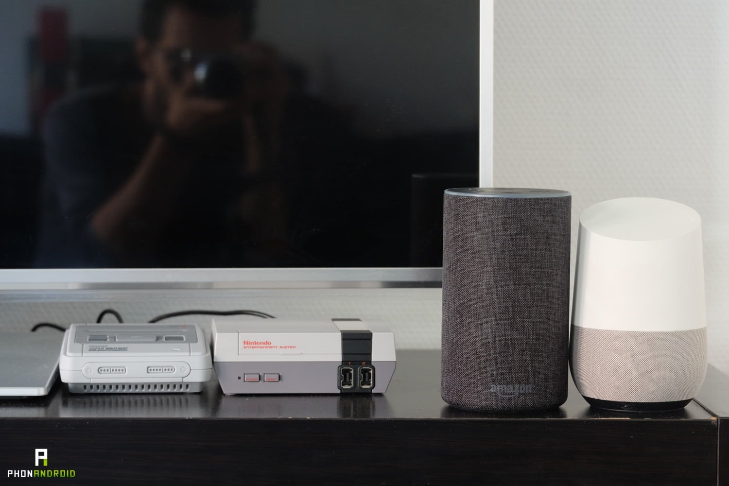 test amazon echo domotique