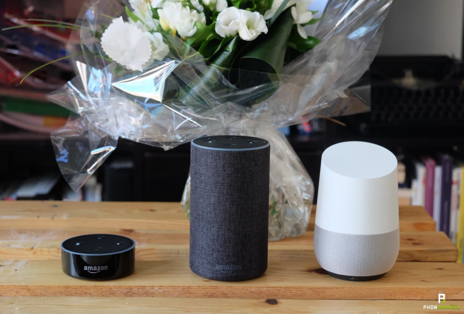 test amazon echo gamme