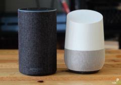 test amazon echo google home