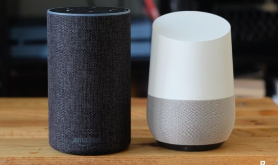 test amazon echo google home