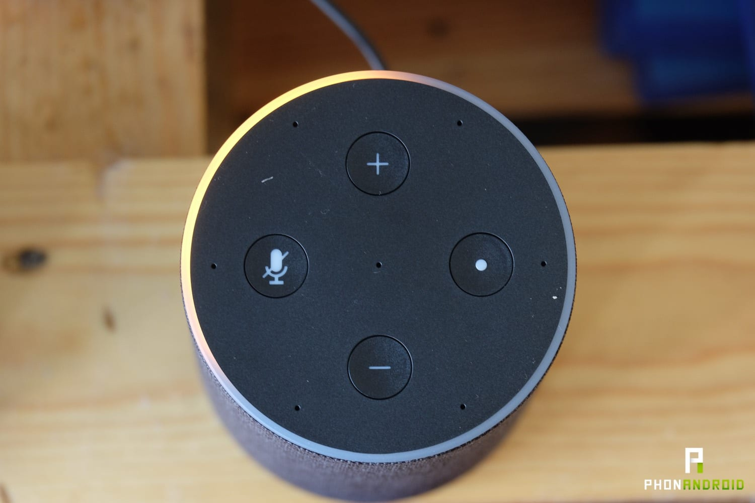 test amazon echo led